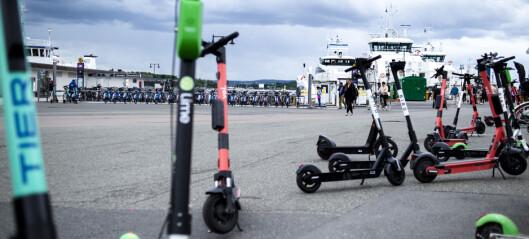 Elsparkesykler blir tema på politirådsmøte
