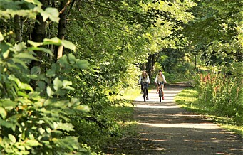 En trygg sykkelkorridor på tvers av byen mellom Akerselva og Majorstua