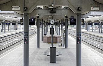 Utredning foreslår å droppe ny jernbanetunnel under Oslo