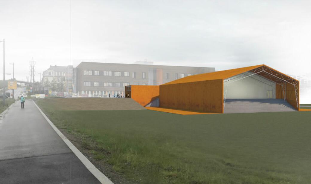 Økernbadet skulle være en midlertidig løsning frem til nytt Tøyenbad er klart i 2023. Nå er trolig Økernbadet ikke klart før i 2021.