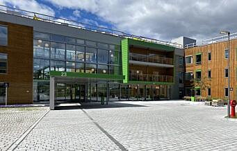 Solfjellshøgda helsehus på Ryen det aller første nybygde helsehuset i byen
