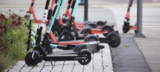 Oslo vil kreve sparkesykkelgebyr, men ikke umiddelbart