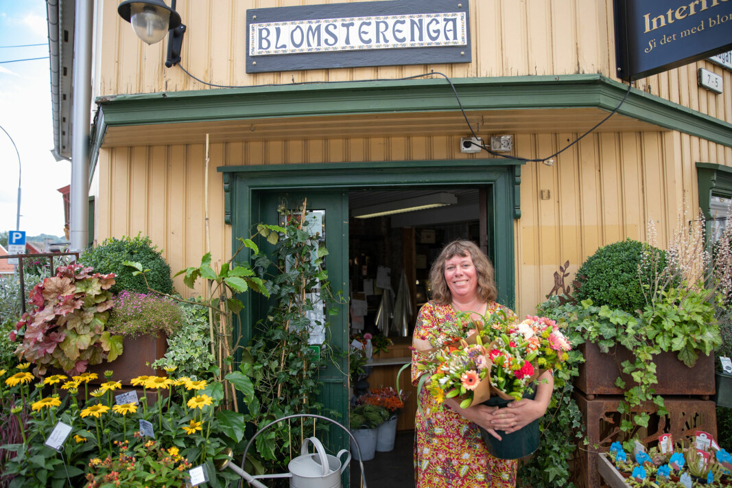 Hos Line Andresen på Kampen kan du kjøpe blomster døgnet rundt.