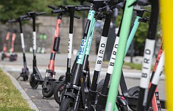 Byrådet i Oslo ber om nattestengte sparkesykler