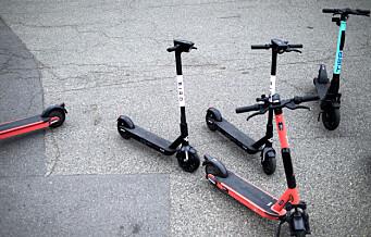 Politiet: Elsparkesykler har blokkert for utrykningskjøretøyer