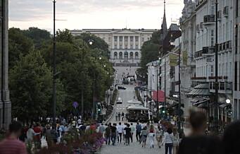 Oslo er nå «rødt» ifølge FHIs smittekrav til andre land