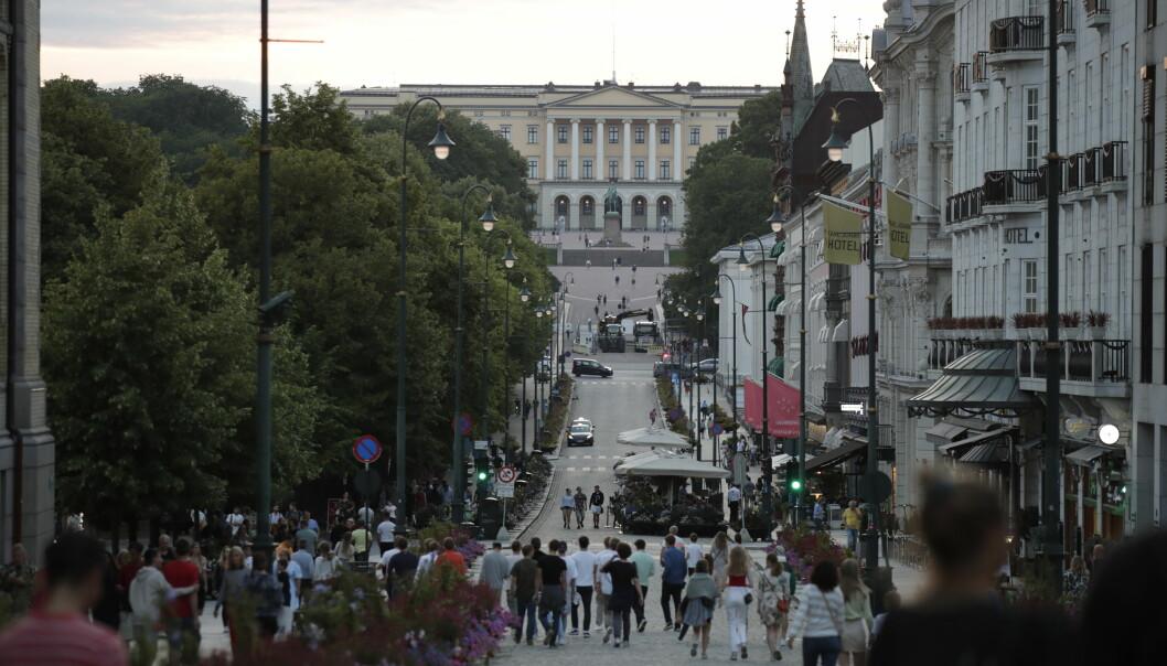 Oslo har 22,49 smittede per 100.000 innbyggere, som betyr at kommunen er «rødt» ifølge FHIs krav til andre land.