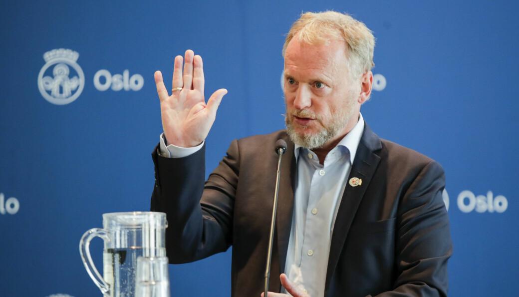 — Vi kan ikke ha russetreffaktige tilstander i Oslo nå, sier Raymond Johansen (Ap).