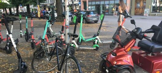 Ni av ti i Oslo mener dagens elsparkesykkelordning ikke fungerer