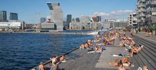 Svømmeferdighetene er et symbol på den delte byen. – Å svømme kan få reelle konsekvenser for liv og død