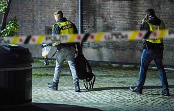Ukjente gjerningsmenn skjøt flere skudd inn i leilighet på Bjølsen