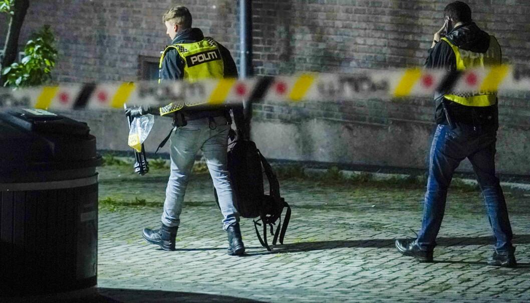 Det ble natt til fredag avfyrt flere skudd mot en leilighet på Bjølsen i Oslo.