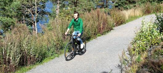 Barnevennlig sykkeltur. Fiskevollbukta – Ljanskollen – Hvervenbukta