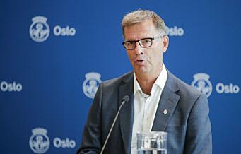 Oslo kommune om smittetrykket: Kan bli aktuelt å be om legitimasjon ved utesteder