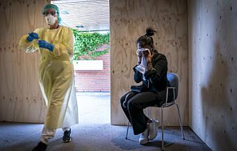 Helsedirektoratet vil samle 10.000 korona-spyttprøver i Oslo og Viken