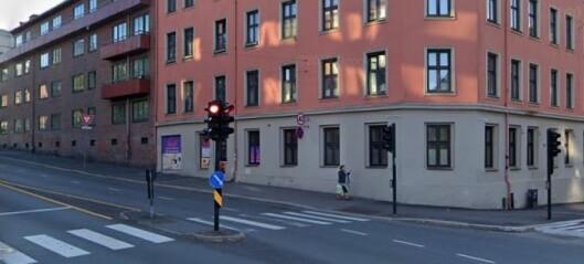 Syklist kjørte på gravid kvinne i krysset ved Sannergata og Fagerheimgata