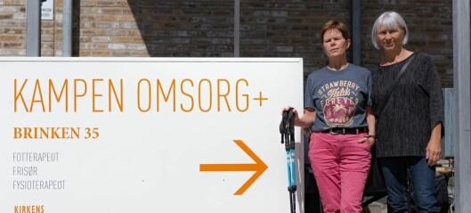Frykter dårligere tilbud ved Kampen Omsorg+ når bydel Gamle Oslo overtar driften fra Kirkens Bymisjon