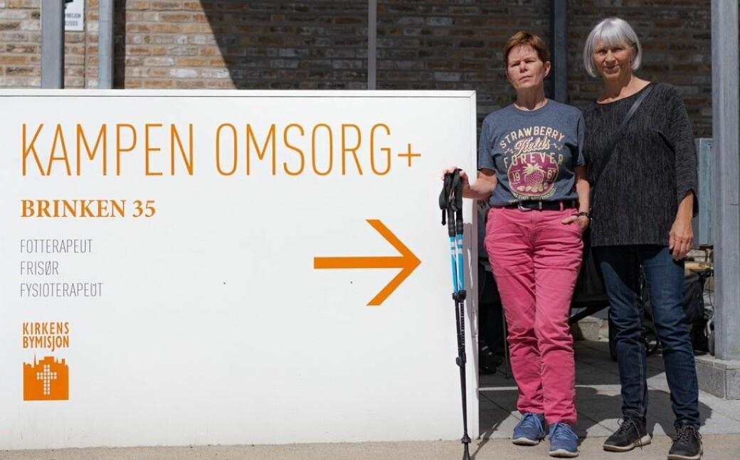 Hanna Vesterager (til v.) og Agneta Kolstad frykter bydel Gamle Oslo og kommunen ikke vil gi et like godt tilbud.