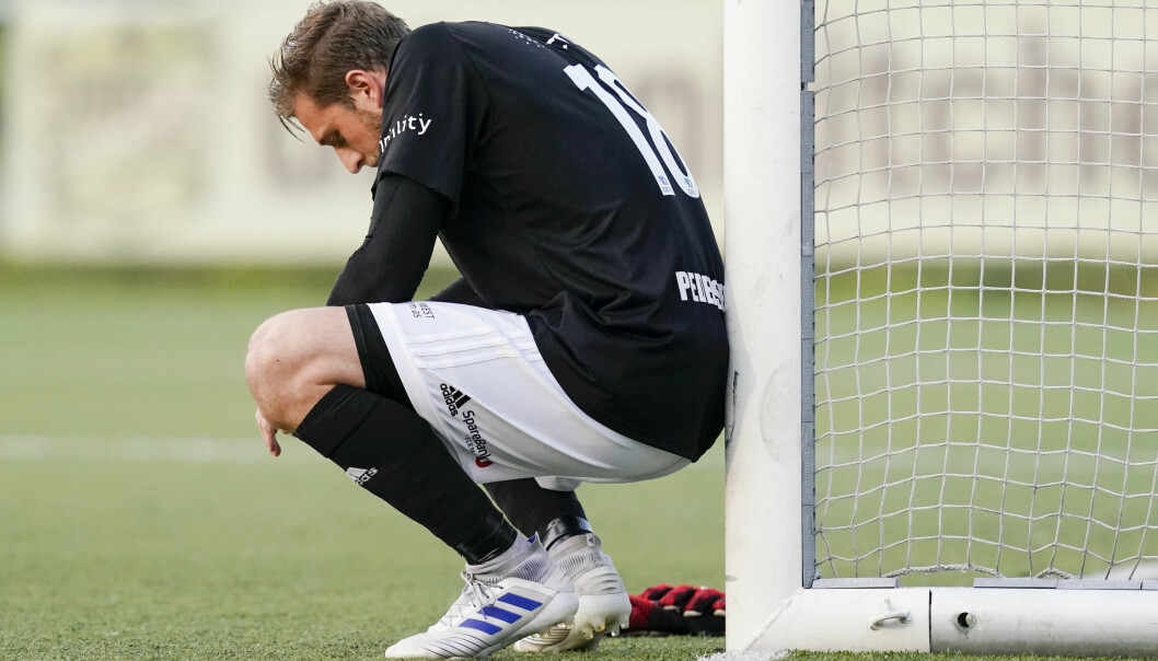 Helt på tampen av oppgjøret mot Kongsvinger felte KFUM-keeper Alexander Pedersen en KIL-spiller. Straffen gikk inn og det ble poengdeling på Ekeberg.