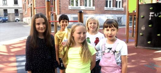 Fjerdeklassingene på Grünerløkka skole stortrives på aktivitetsskolen. Nå får enda flere skoler tilbud om gratis kjernetid