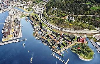 Utbyggingsplaner på Grønlikaia skaper debatt. Byantikvaren frykter tap av kulturminner
