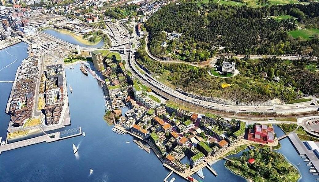 HAV eiendoms utbyggingsplaner på Grønlikaia og i Lohavn skaper debatt. Byantikvaren frykter planene vil true Oslos middelalderarv.