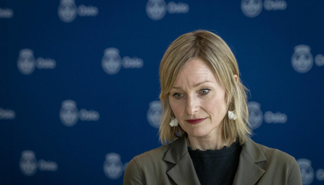 Inga Marte Thorkildsen er bekymret for utviklingen i koronasmitte blant byens ungdommer.