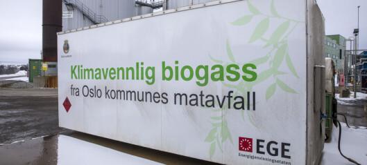 Her skulle det lages biogass av oslofolks matavfall. I stedet fakles nesten 40 prosent rett opp pipa