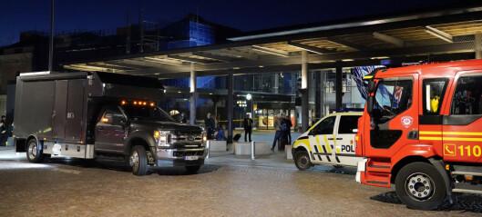 Politiet slår fast at bombetrussel var falsk: - All trafikk ved Oslo S kan snart gå som normalt