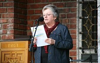 Eks-fagforeningstopp Mari Sanden hardt ut mot nytt høysikkerhetsfengsel på Bredtvet
