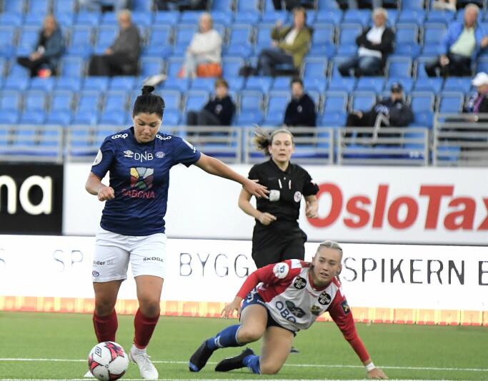 — Dette laget begynner å få en herlig vinnermentalitet, mener Dejana Stefanovic.