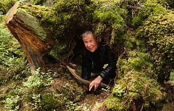 Sagene Frivilligsentral går hver uke en tur på stien for å søke skogens ro