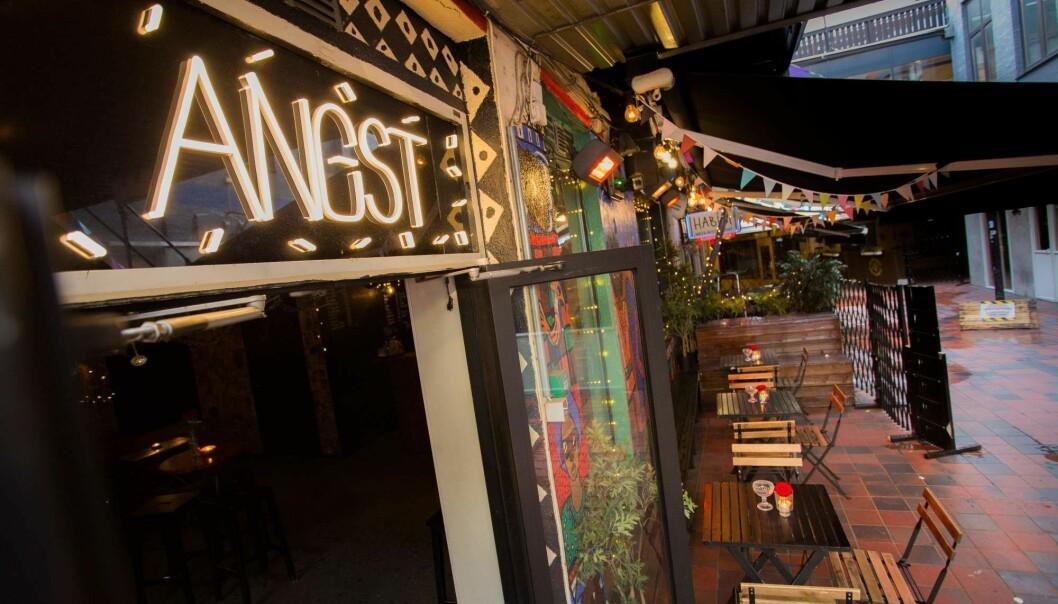 Angst Bar ligger i passasjen Strøget nede i sentrum.