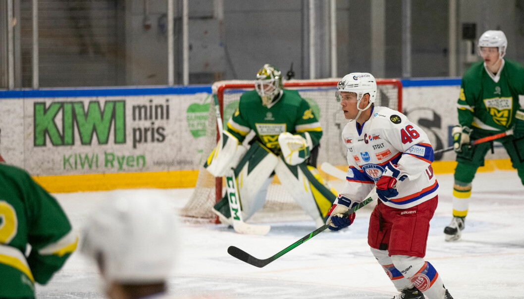Tobias Lindström kom nok engang på scoringslisten.