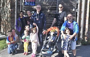 Foreldre fortviler over at Heibergløkka barnehage på Tøyen fortsatt ikke er bygget opp etter fjorårets brann