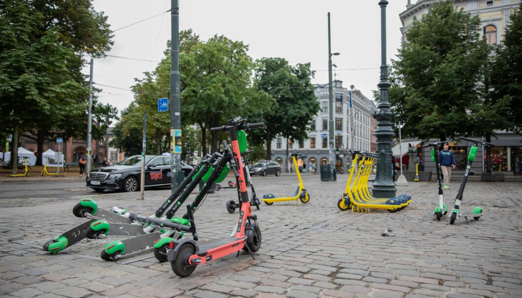 Norge har en dårlig ordning for elsparkesyklene sine sammenlignet med andre land, skriver Stein Leikanger.