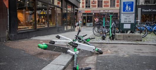 Norge – elsparkesyklenes ville vesten