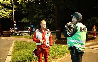 24 til sykehus etter grottefest på St. Hanshaugen. 200 kan ha vært på festen der sju er kritisk skadd av kullosforgiftning