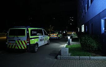 Ung mann til sykehus etter knivstikking på Haugenstua