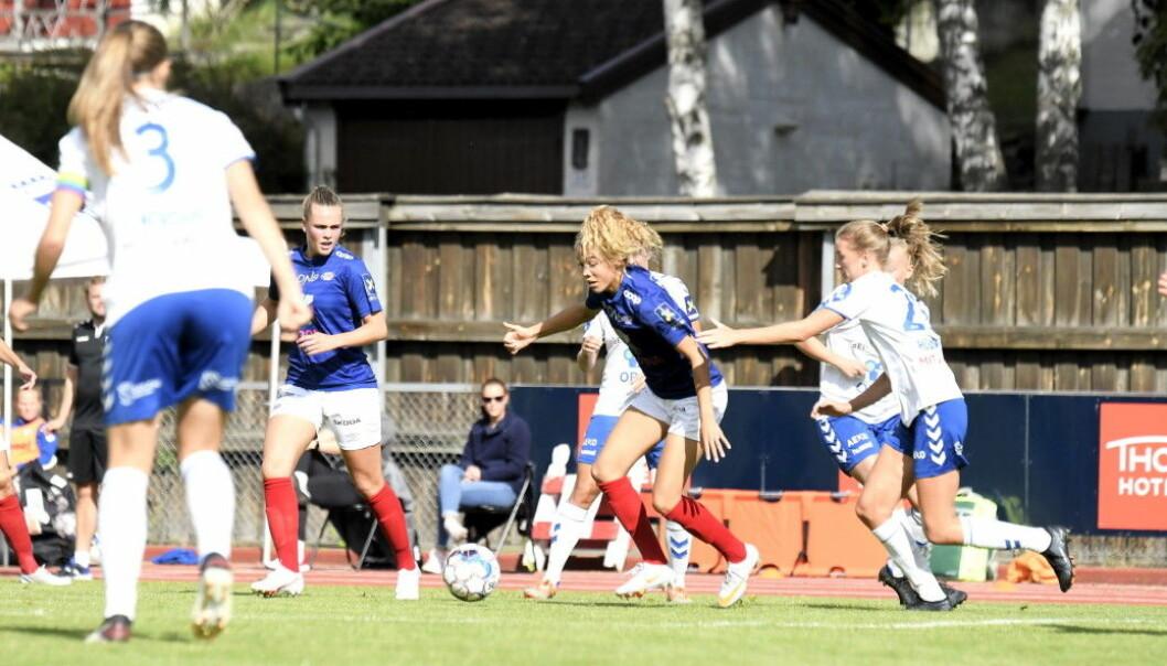 Celin Bizet Ildhusøy og Vålerenga leder fortsatt Toppserien, selv om det bare ble ett poeng borte mot Kolbotn.