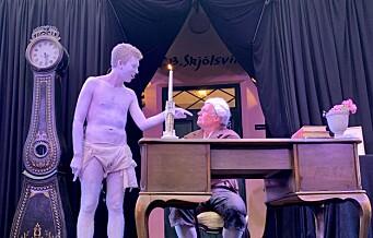 Odd Nerdrums teaterdebut
