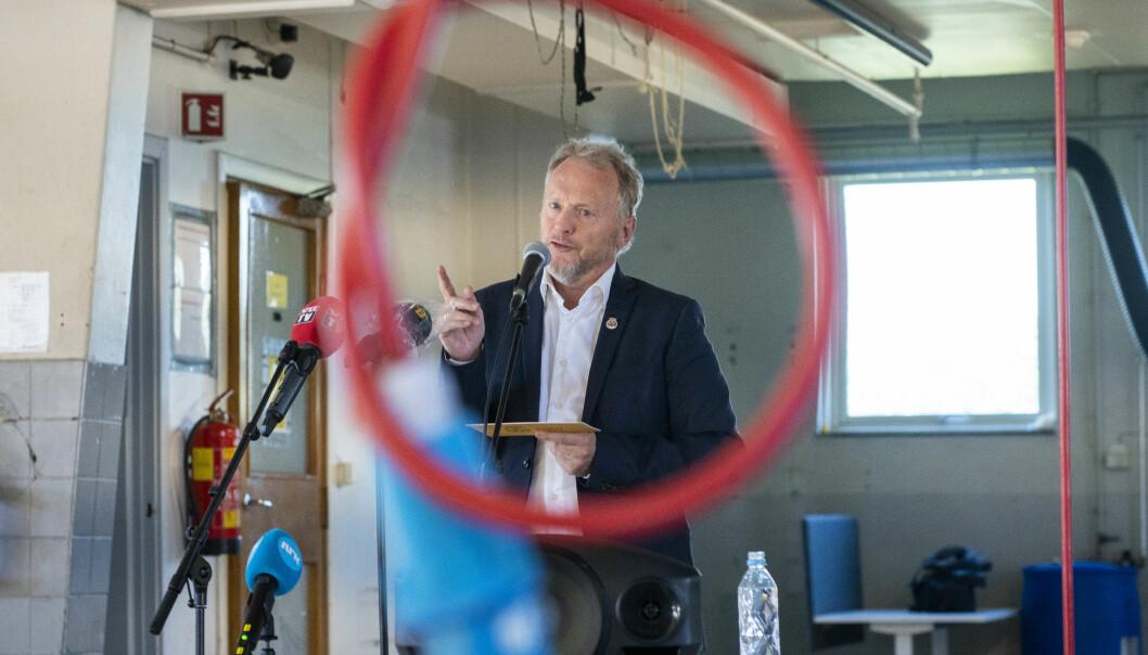 Byrådsleder Raymond Johansen la tirsdag fram planen for å få opp testkapasiteten i hovedstaden.