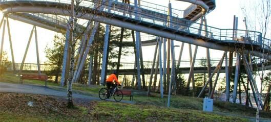 Overraskende fredelig sykkelrute fra nord til sør i Groruddalen