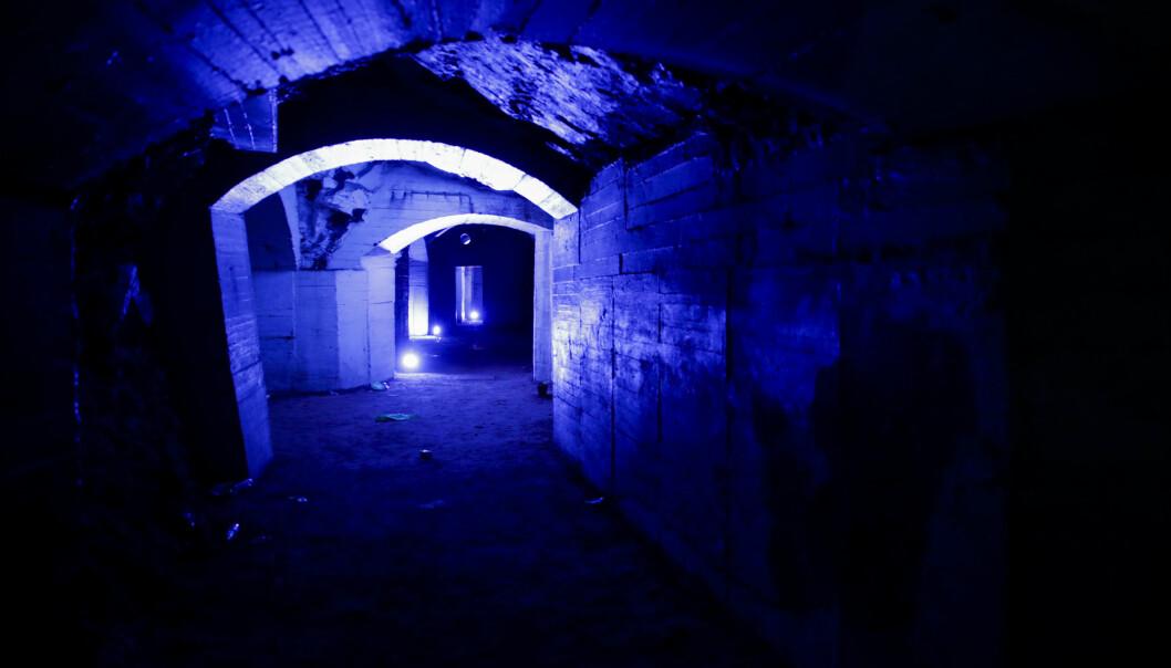 Bunkeren på St. Hanshaugen ble tidligere brukt som tilfluktsrom og var eid av Sivilforsvaret.