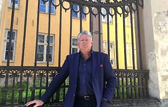 Stiftelse ber Stortinget stanse salget av historiske Krigsskolen i Tollbodgata 10. — Dette bygget har ikke noe på private hender å gjøre