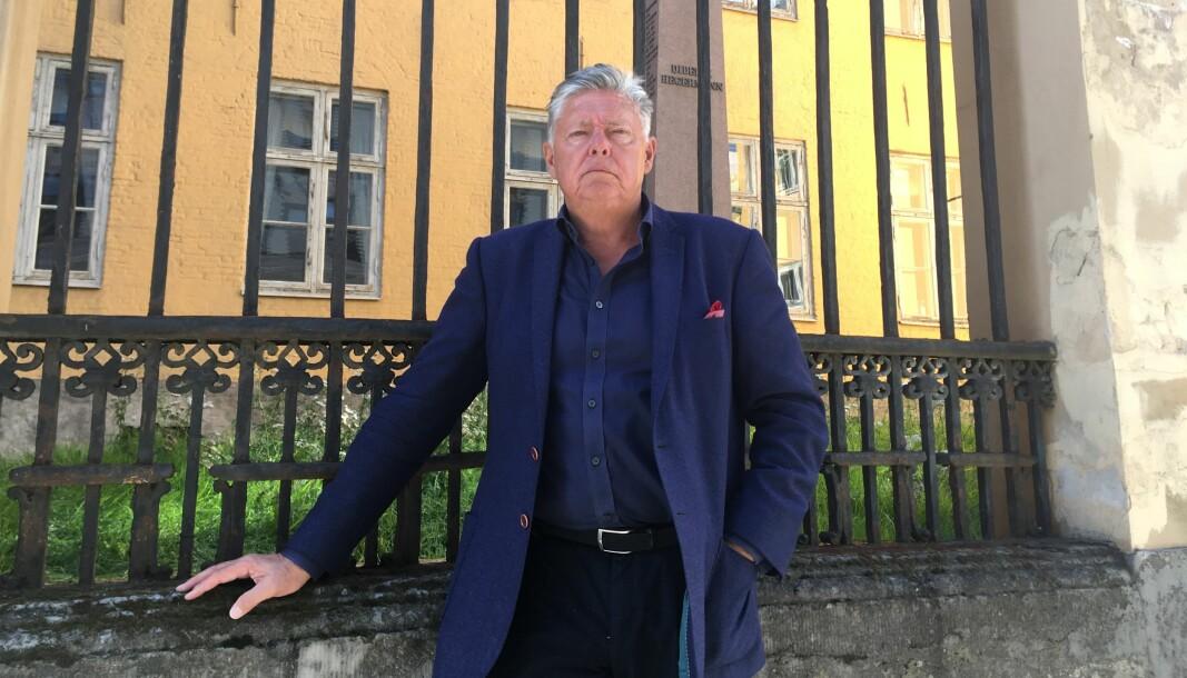 Generalsekretær i Oslo Byes Vel og pådriveren bak stiftelsen Den gamle krigsskole, Ole Rikard Høisæther, sto i spissen for å stanse Forsvarsdepartementet fra å selge Krigsskolen på det private markedet.