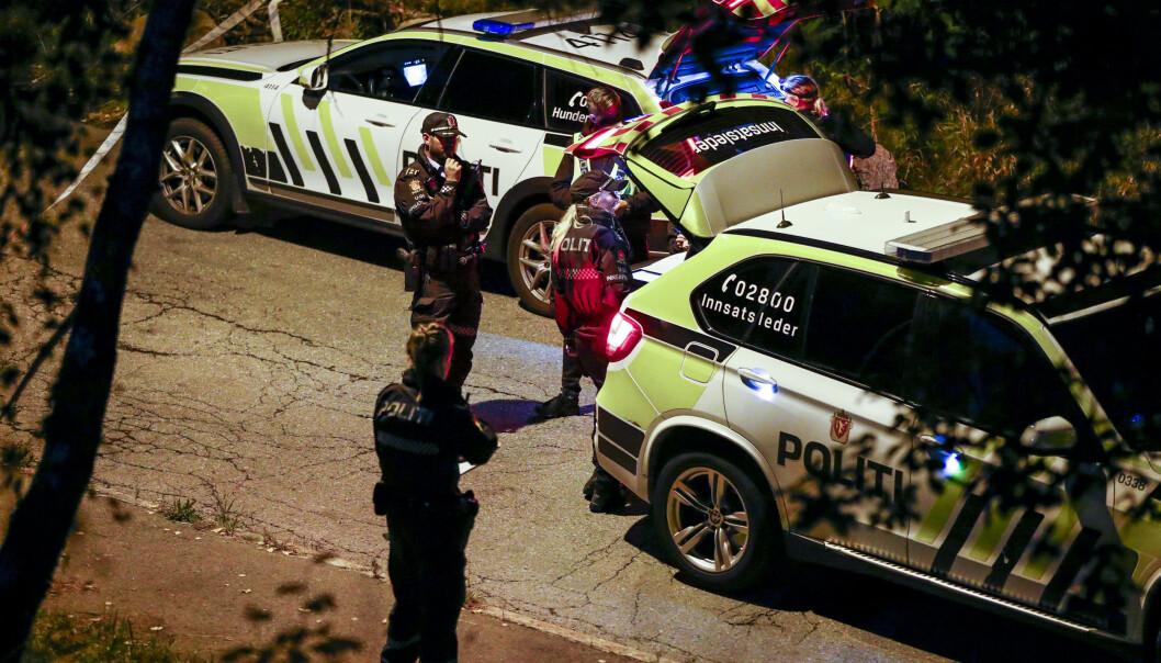 En mann i 30-årene ble sendt til sykehus etter å ha blitt knivstukket på åpen gate på Bredtvet. Foto: Terje Pedersen / NTB scanpix