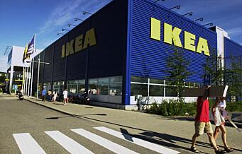 Ikea på Furuset er en av 20 Oslo-butikker som kan bli tatt ut i streik. Se hele lista