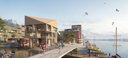 Hav eiendom letter på sløret: Åpner Deichman-utstilling om byggeplanene på Grønlikaia