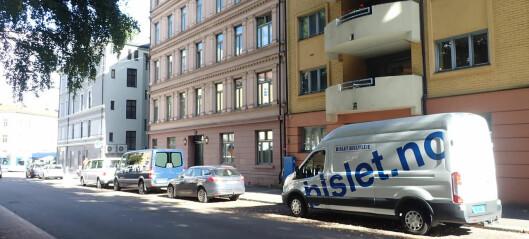 Beboerne på Bislett opplevde at beboerparkeringene deres forsvant til bildeling. Nå står i stedet leiebiler på plassene